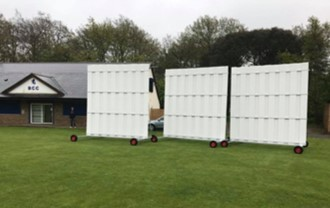 Just arrived - 3 new sightscreens