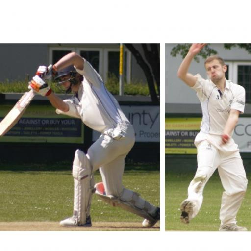 Fox and Frewin shine in rain-affected matches