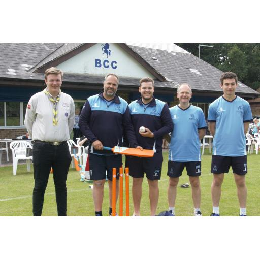 Broadstairs Cricket Club Donate Cricket Equipment to Scouts For Ghana Project