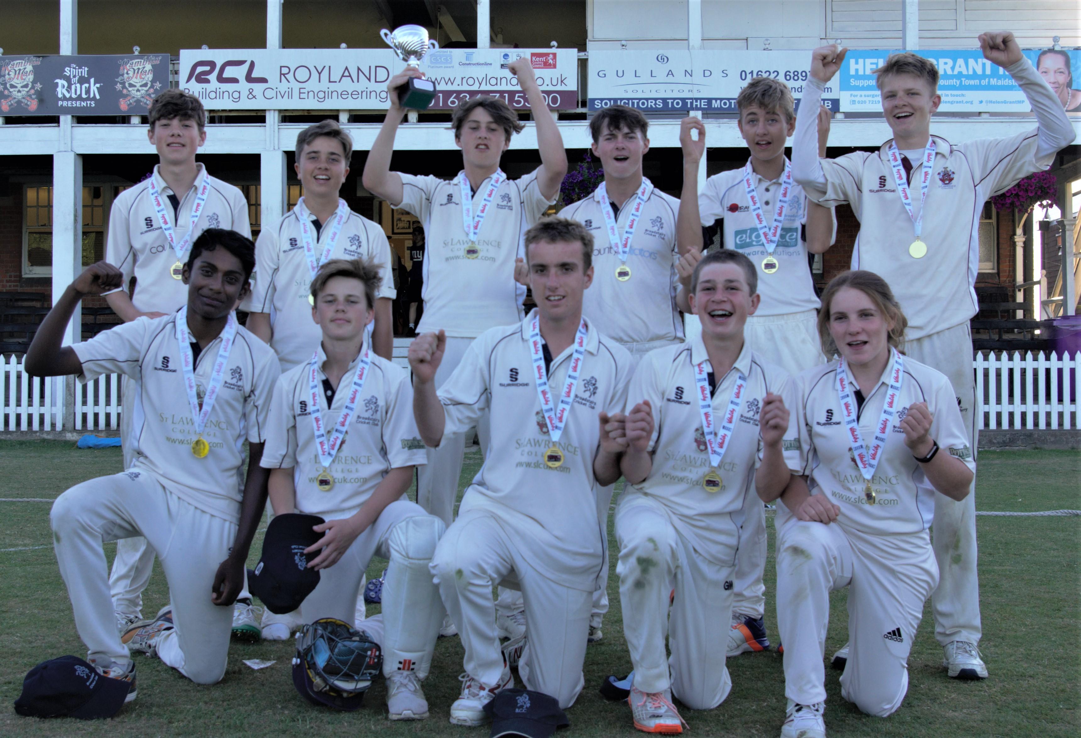 U15s crowned 2018 Kent Champions