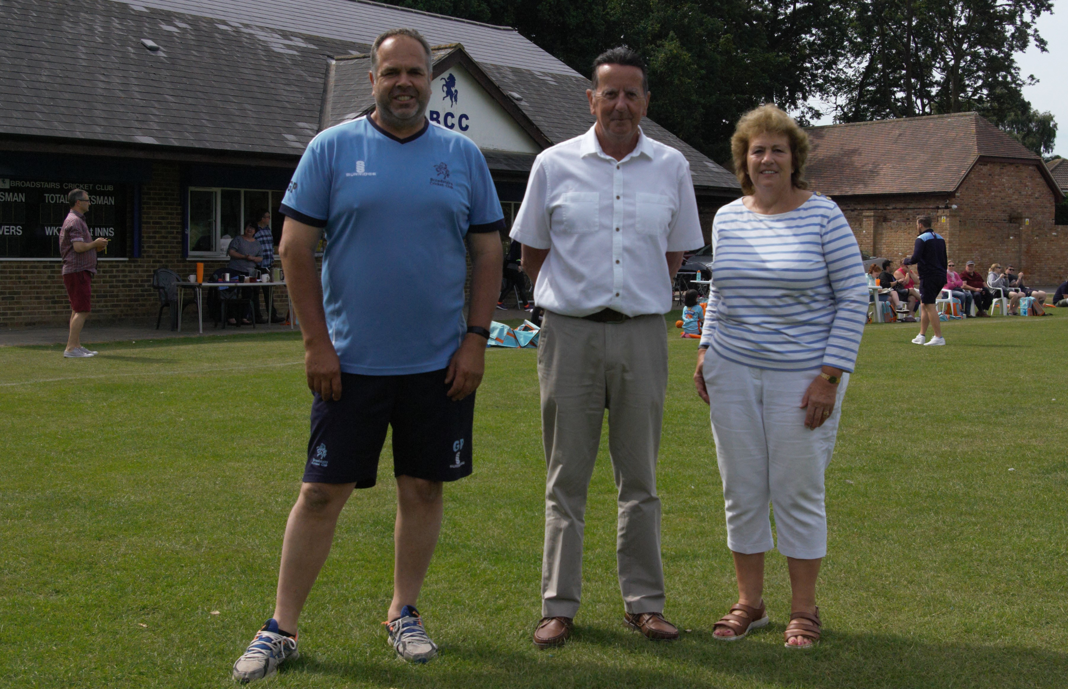 Visit from Kent County Councillor Rosalind Binks