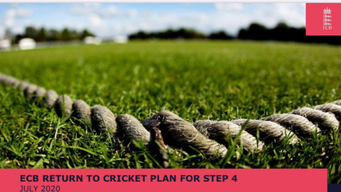 Guidance for return to cricket