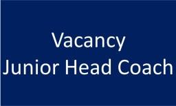 Vacancy for Junior Head Coach